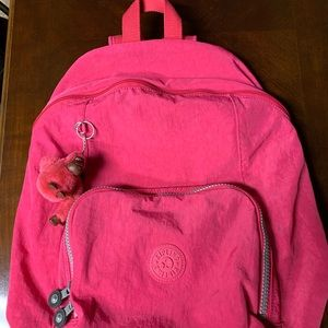 Kipling Pink Backpack